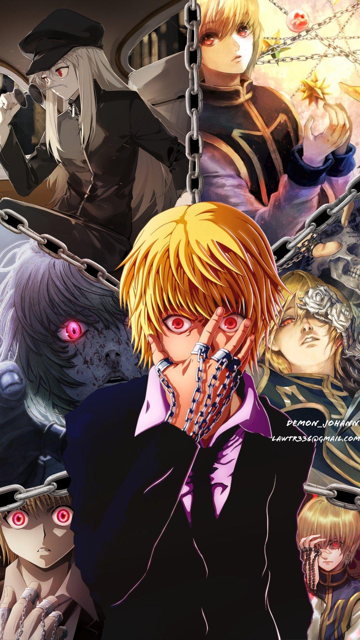 Kurapika Hunter X Hunter Hunter Anime Hunter X Hunter Anime Wallpaper