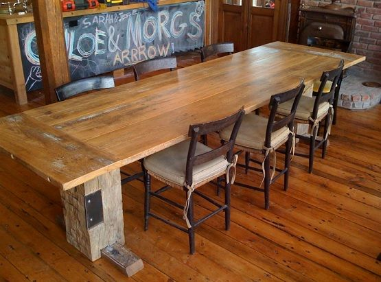 How To Make Reclaimed Wood Dining Room Table