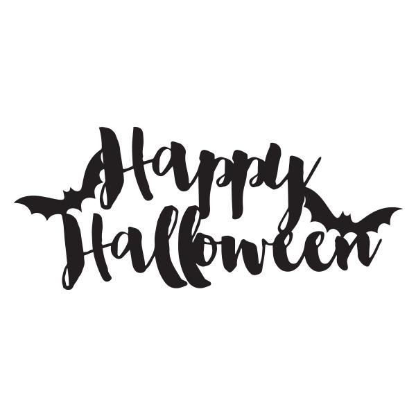 Happy Halloween Svg File Happy Halloween Banner Halloween Templates Halloween Stencils
