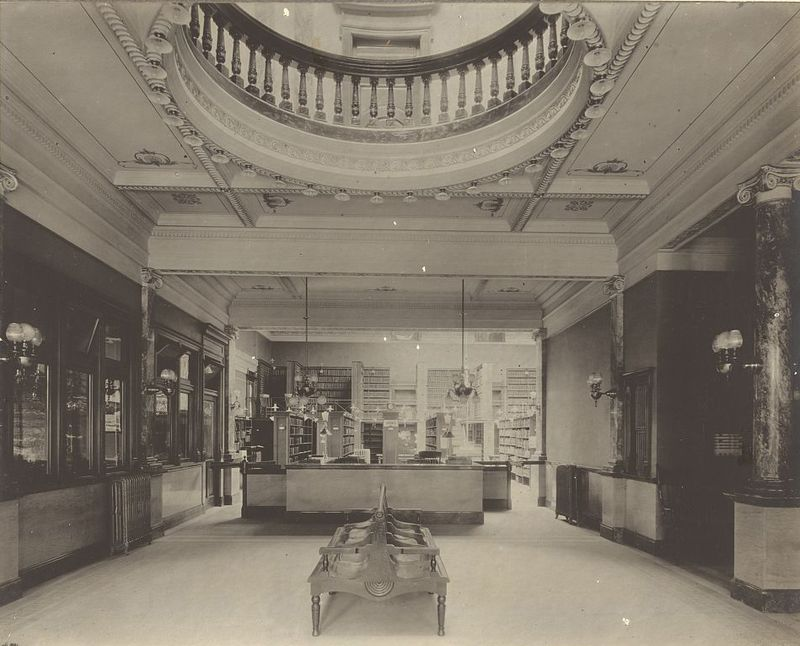 The Hushed Interiors Of 19th Century Libraries Carnegie Library Library Century