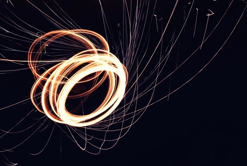 Abstract Photography Time Lapse Swirl Wallpaper 2019