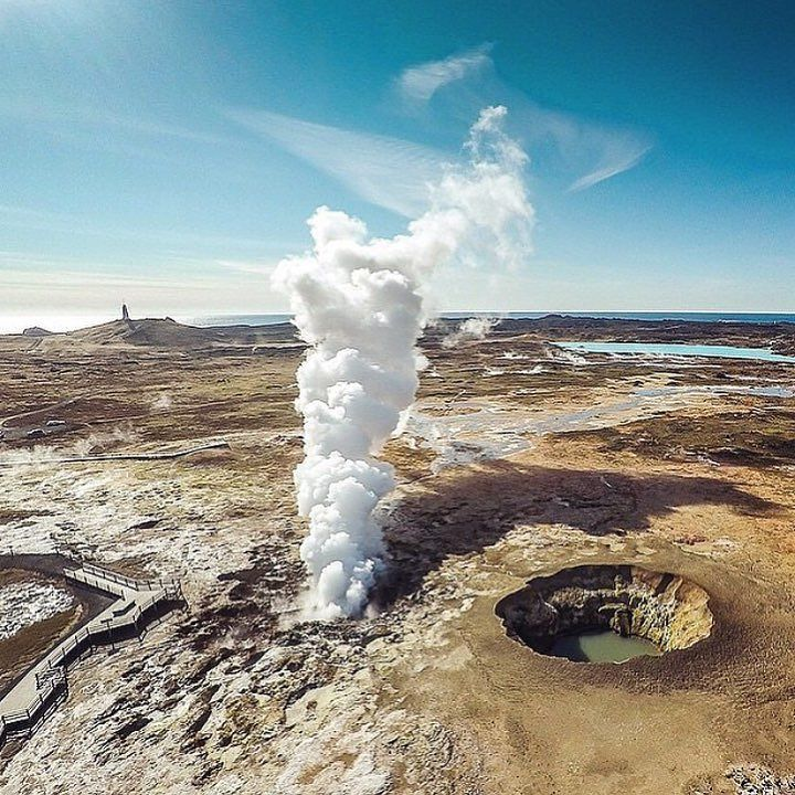 Gunnuhver Iceland a highly active geothermal area  by  @fromwhereidrone #dji #djiphantom #djiglobal #gopro #goprooftheday #goprohero #gopro4 #goproselfie #summer #dronestagram #goprodaily #dronesdaily #dronesaregood #goprouniverse #goprohero #goprodaily #goprohero4 #love #summer #instagood #happy #sUAS #igers #Amazing #Life #Aerial #Beautiful #Love #Urban #UAV  Tag #drofika with your drone pics and video to be featured  by drofika