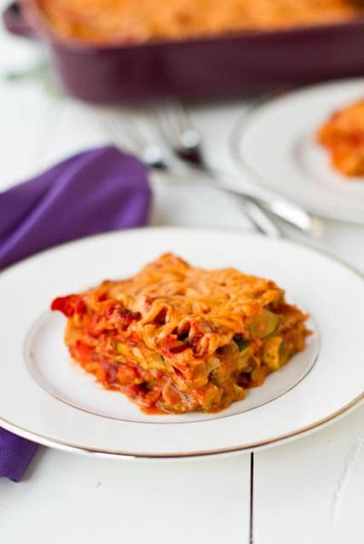 Vegan Lasagna with Basil Cashew Cheeze