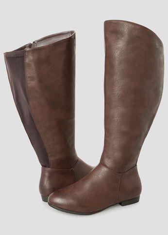997725f167b Basic Tall Boot - Extra Wide Calf Basic Tall Boot - Extra Wide Calf