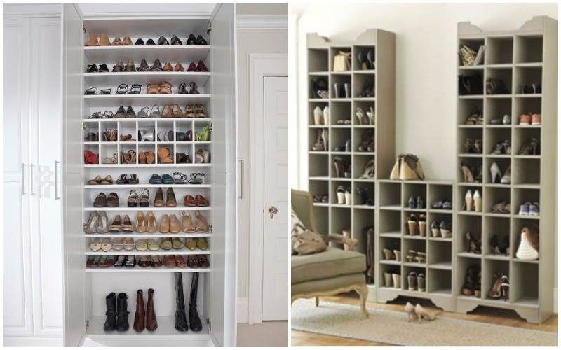 ⭐ +88 Ideas Para Guardar Zapatos ⭐ STOP DESORDEN | Vestidor ...