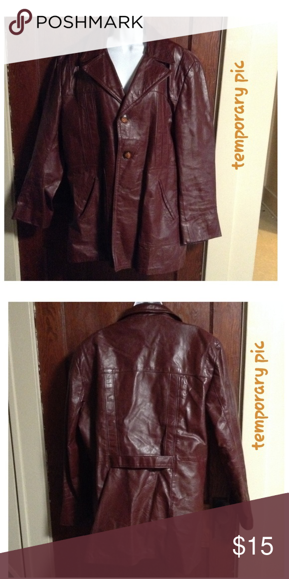 Cosa Nova Lined Genuine Leather Jacket Cosa Nova Lined