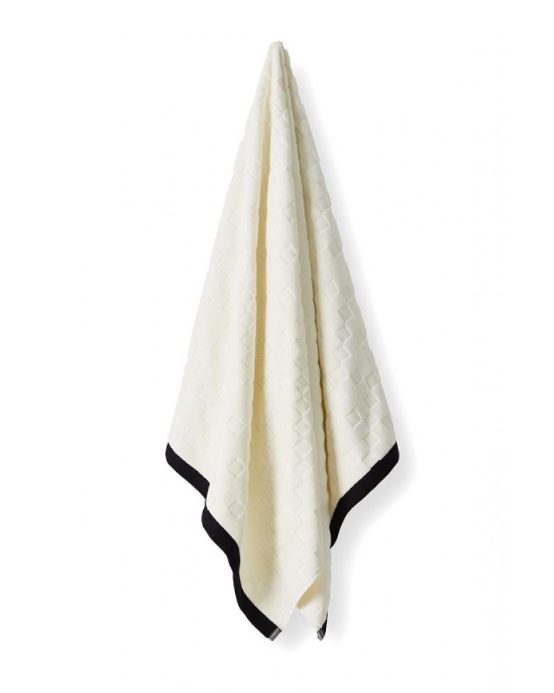 AURA CREME CHECK | BATH TOWEL