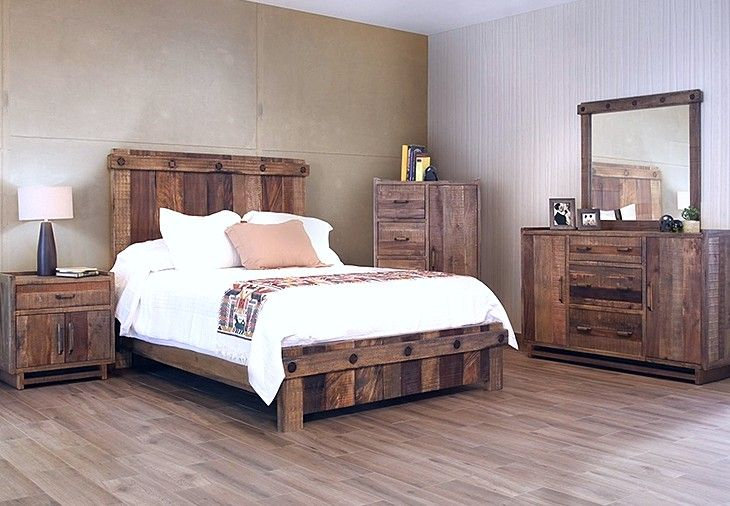 reclaimed wood bedroom furniture for unique character