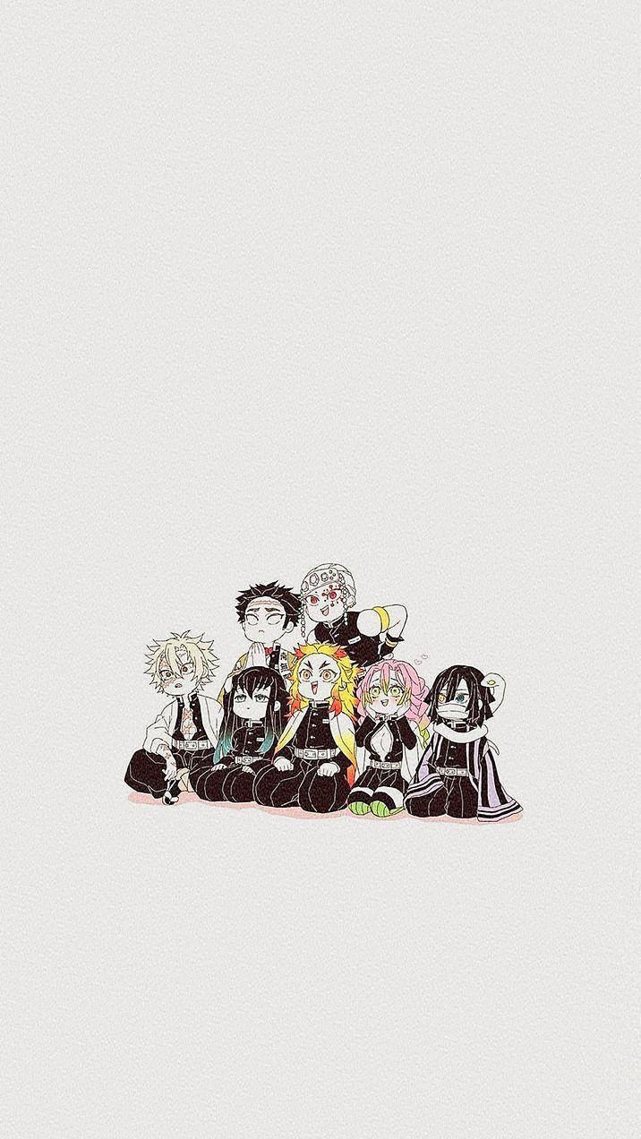 Kimetsu No Yaiba X Reader di 2020 Seni anime, Gambar