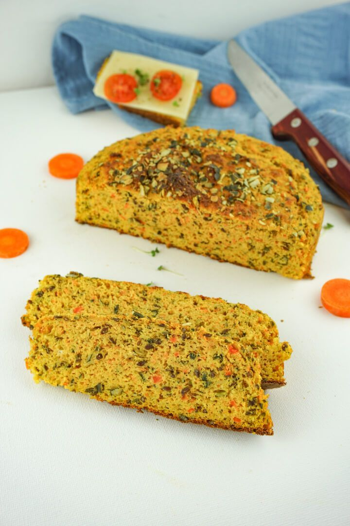 Photo of Saftiges Low Carb Karottenbrot – Brot ohne Kohlenhydrate