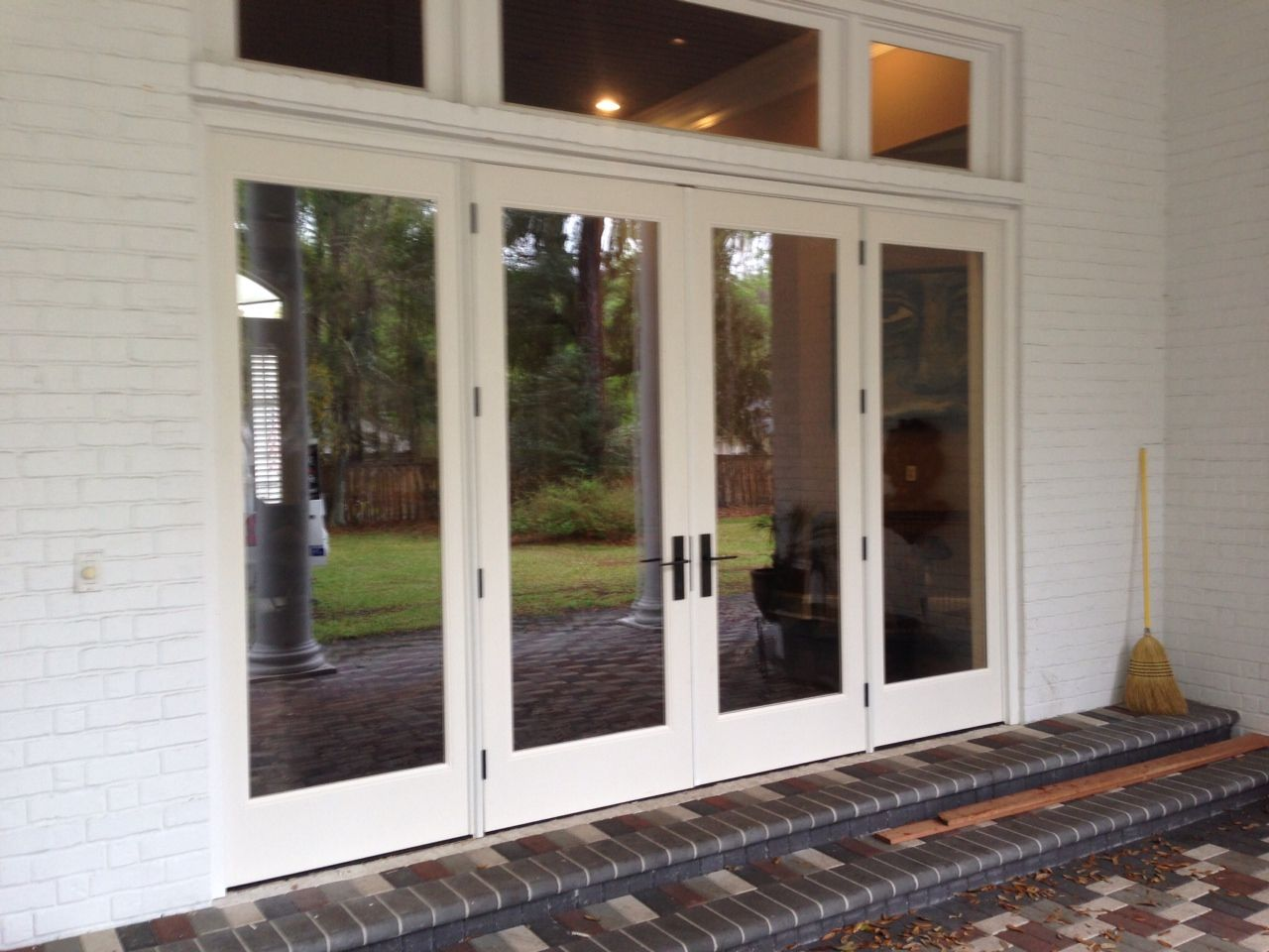 This patio door unit in the mandarin area of jacksonville - How wide are exterior french doors ...