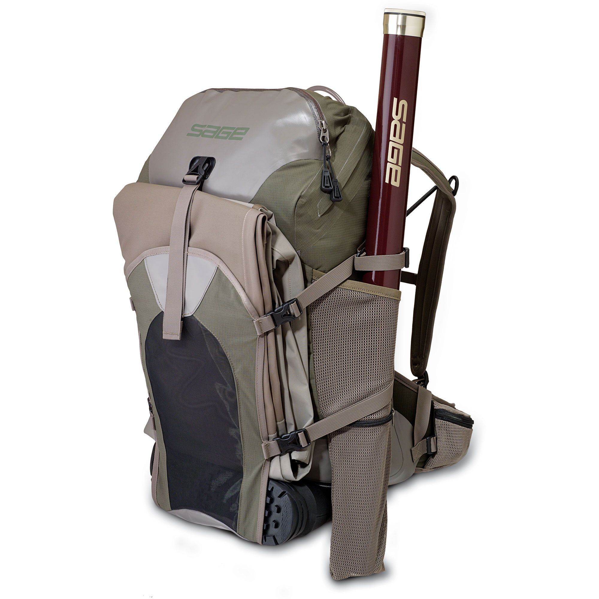 Backpack fishing chair - Typhoon Backpack Fly Fishing Luggage Sage Fly Fishing