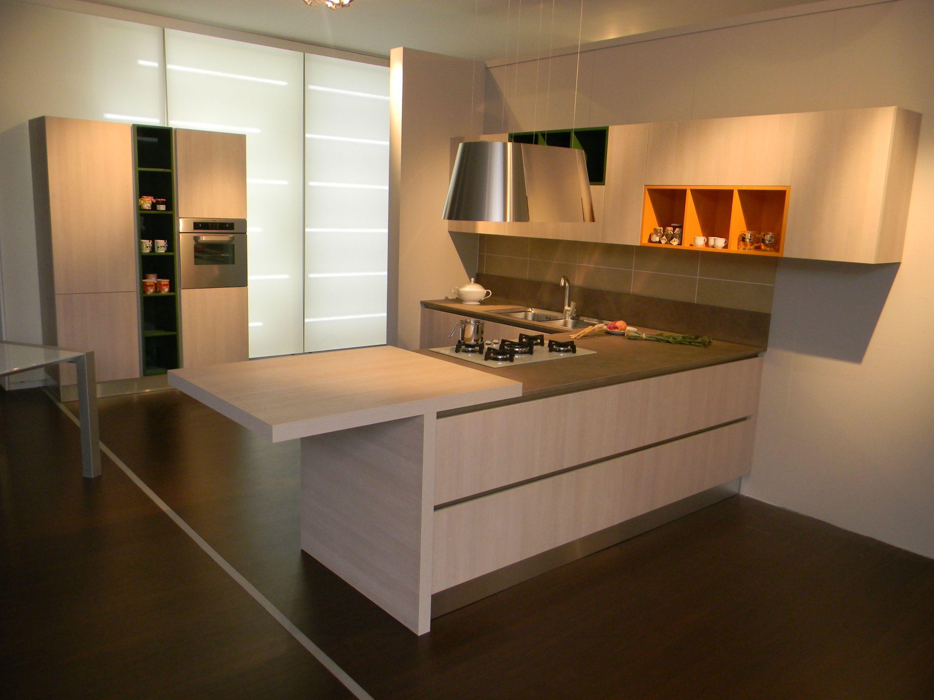 Cucina penisola disegno - Cucine valdesign ...