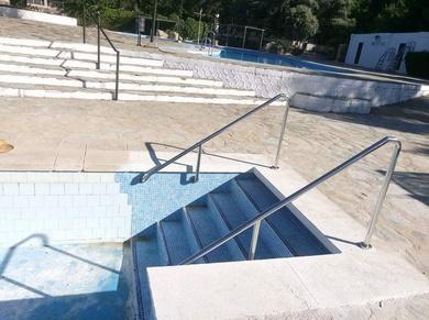 Barandillas Y Escaleras De Acero Inoxidable Para Piscinas Escaleras De Acero Inoxidable Escaleras De Acero Barandas