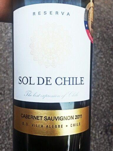 Sol de Chile Cabernet Sauvignon 2011 Villa Alegre Chile (With ...