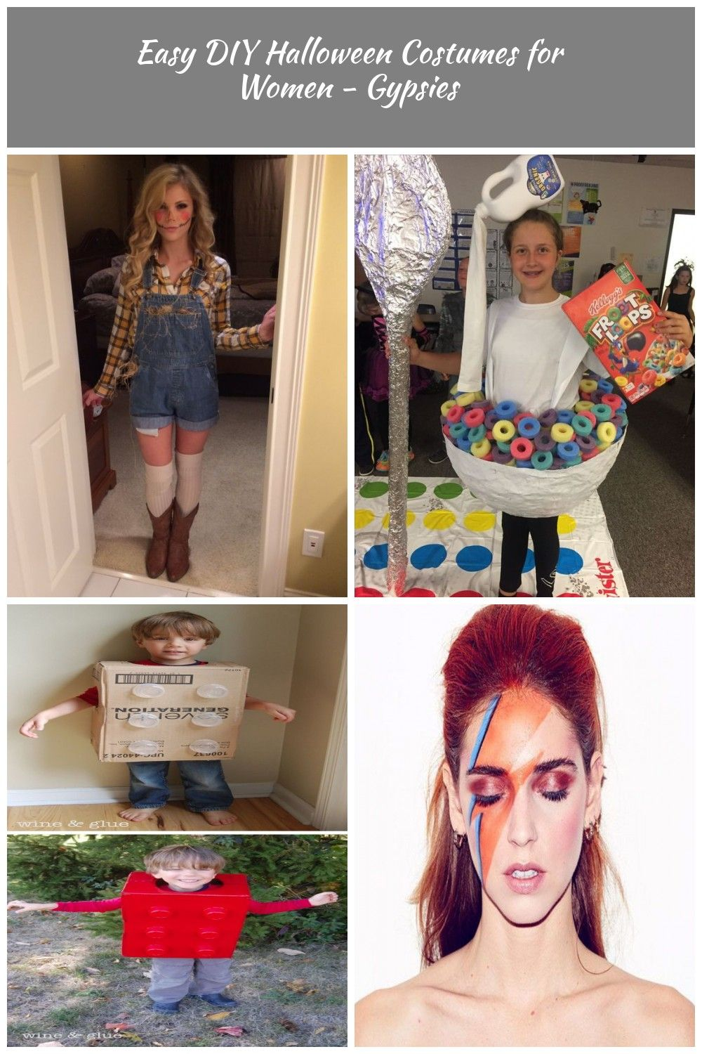 DIY Scarecrow Costume | 20+ Super Cool DIY Halloween Costumes for Women #diy costume Easy DIY Halloween Costumes for Women - Gypsies #scarecrowcostumediy