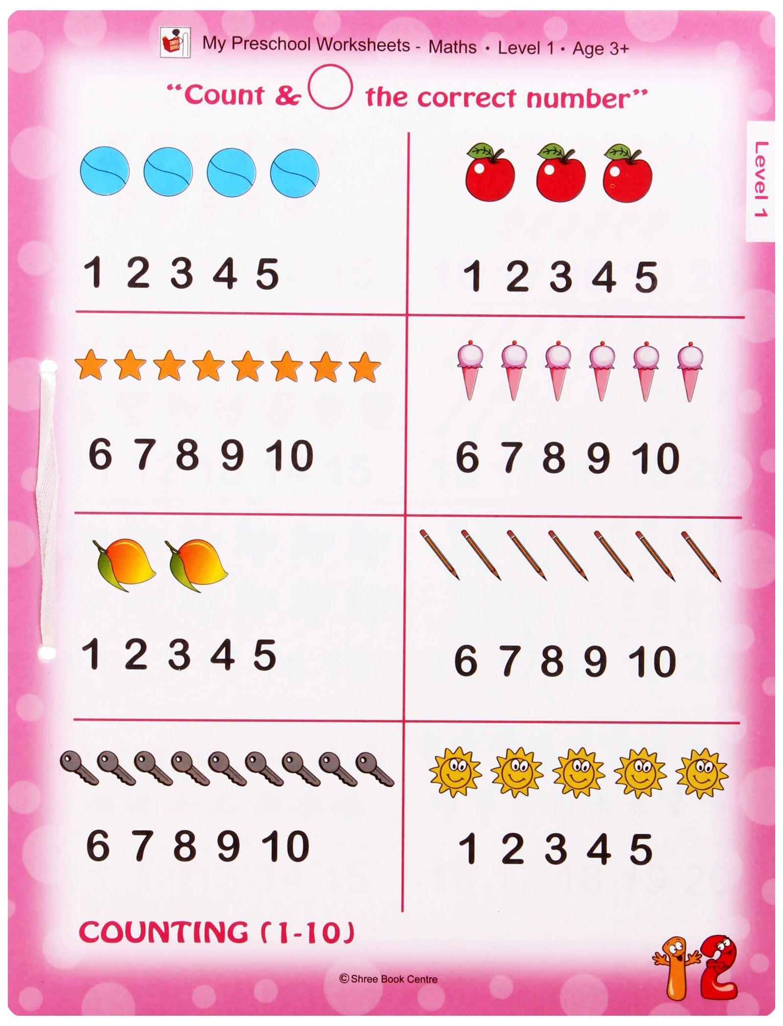 Math Worksheets For Nursery Pdf 582281   Nursery ...
