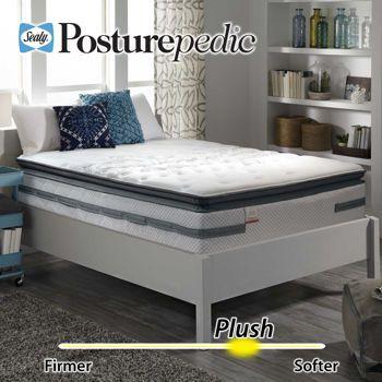 Costco Prichard Plush Euro Pillowtop Queen Mattress King