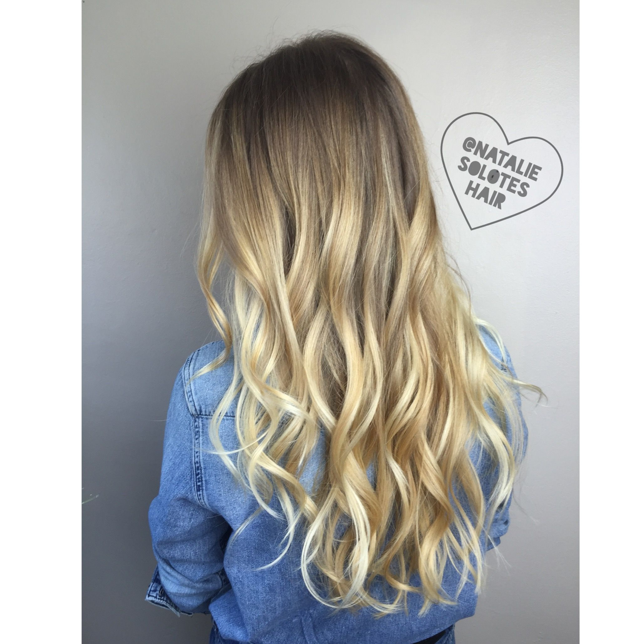Behind The Chair Ombre Blonde Rooted Shadow Root Balayage Subtle Ombre Sombre