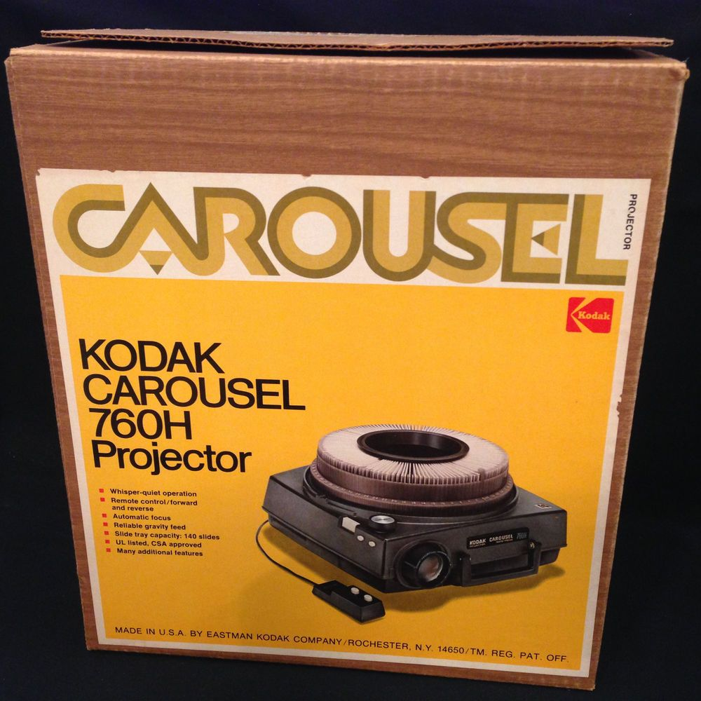 Kodak carousel 750h slide projector with box excellent condition kodak carousel 750h slide projector with box excellent condition remote control fandeluxe Gallery
