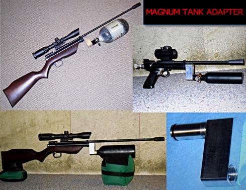 Wicked Air Rifles High Energy (H E ) Benjamin Marauder Valve