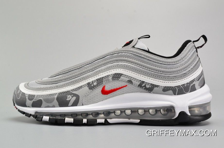 Nike Air Max 97 Og Camo Silver Bullet Metallic Silver Varsity Red Black New Style Price 95 29 Nike Vapormax Nike Air Max Nike Air Vapormax Sandals Nike Air Max 97 Nike Air