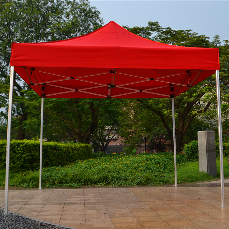10 x 10 Outdoor Canopy Tent, Pop Up, Portable, Square