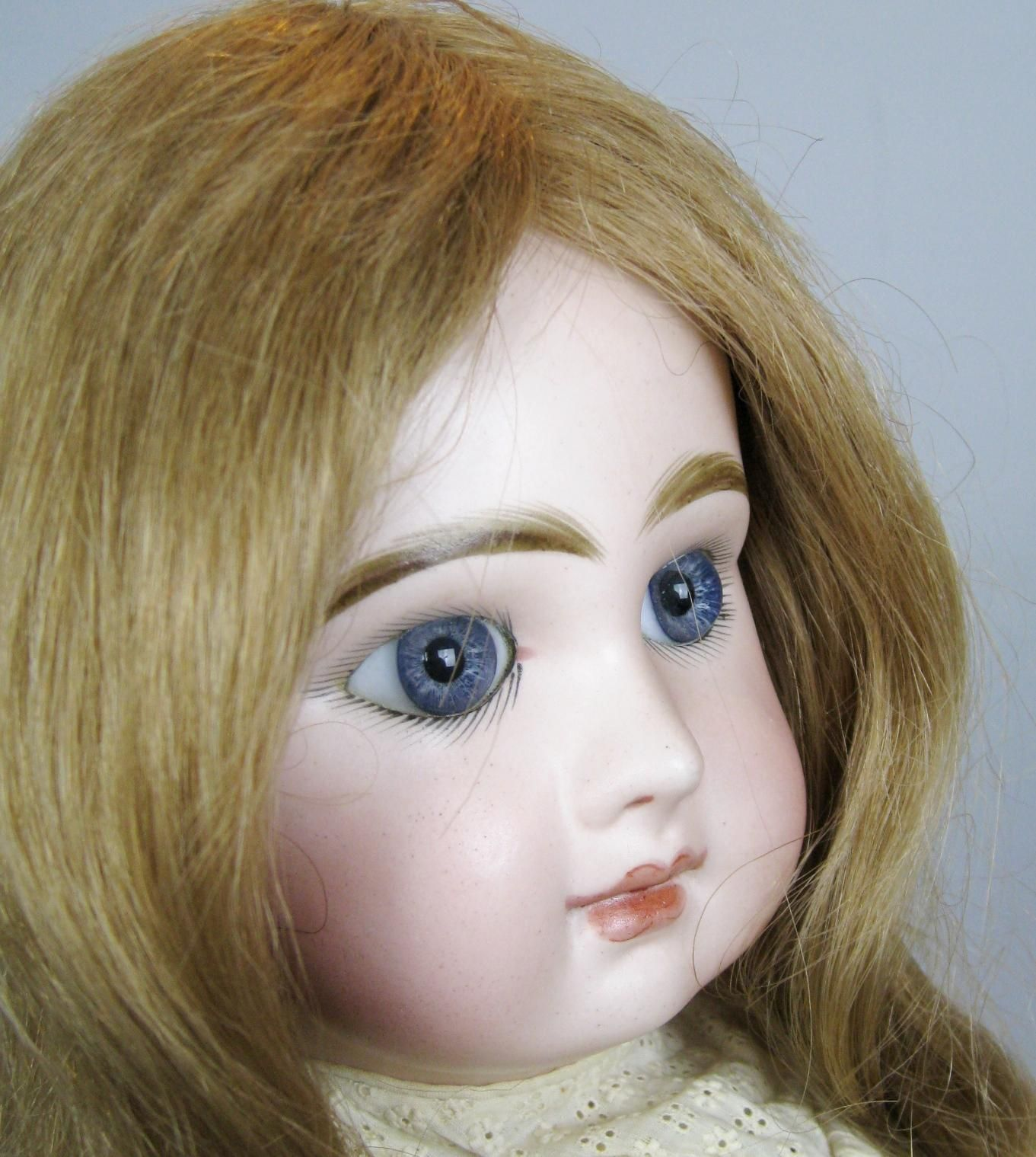 Gorgeous 20 Antique French Tete Jumeau Closed Mouth Bebe Doll French Antiques Antiques Gorgeous