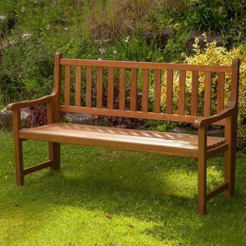 Astonishing Garden Bench Outdoor 3 Seater St Andrews Patio Folding Seat Creativecarmelina Interior Chair Design Creativecarmelinacom