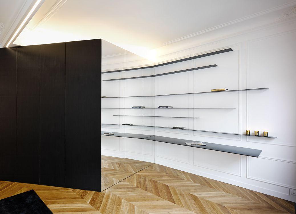 Rénovation Appartement Haussmannien Paris 75 | NEUILLY | Pinterest ...