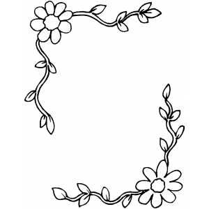 free picture frame coloring pages - photo#36