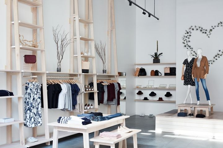 Amour vert store by bcv architects palo alto california for Innenraum design blog