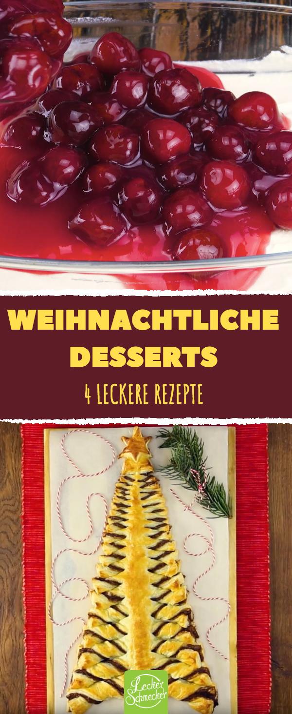 Diese Dessert-Rezepte sind perfekt für dein Weihnachtsmenü.