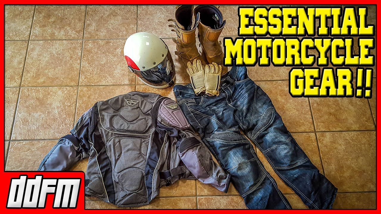 Here are my top 5 essential motorcycle safety gear every
