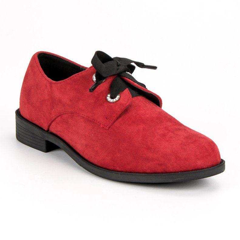 Bestelle Czerwone Zamszowe Polbuty Dress Shoes Men Oxford Shoes Men Dress