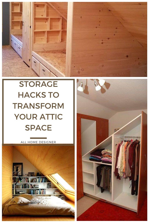 Attic Room Storage Ideas In 2020 Attic Spaces Attic Rooms Attic Design
