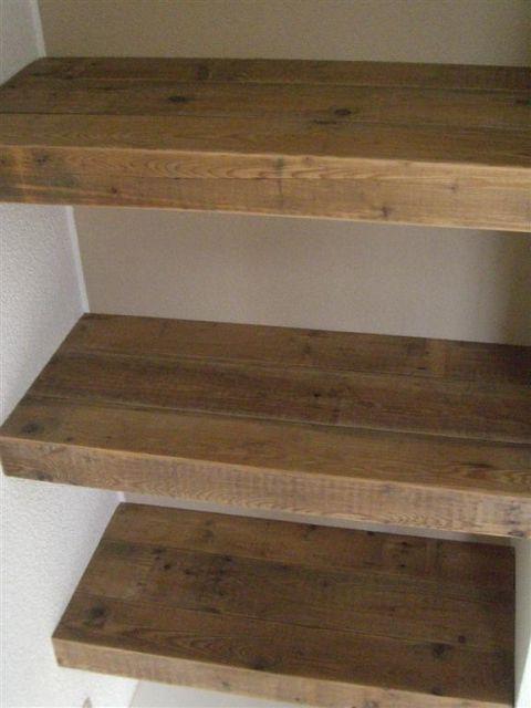 Hout Planken Badkamer : ... Houten Planken op Pinterest - Planken ...