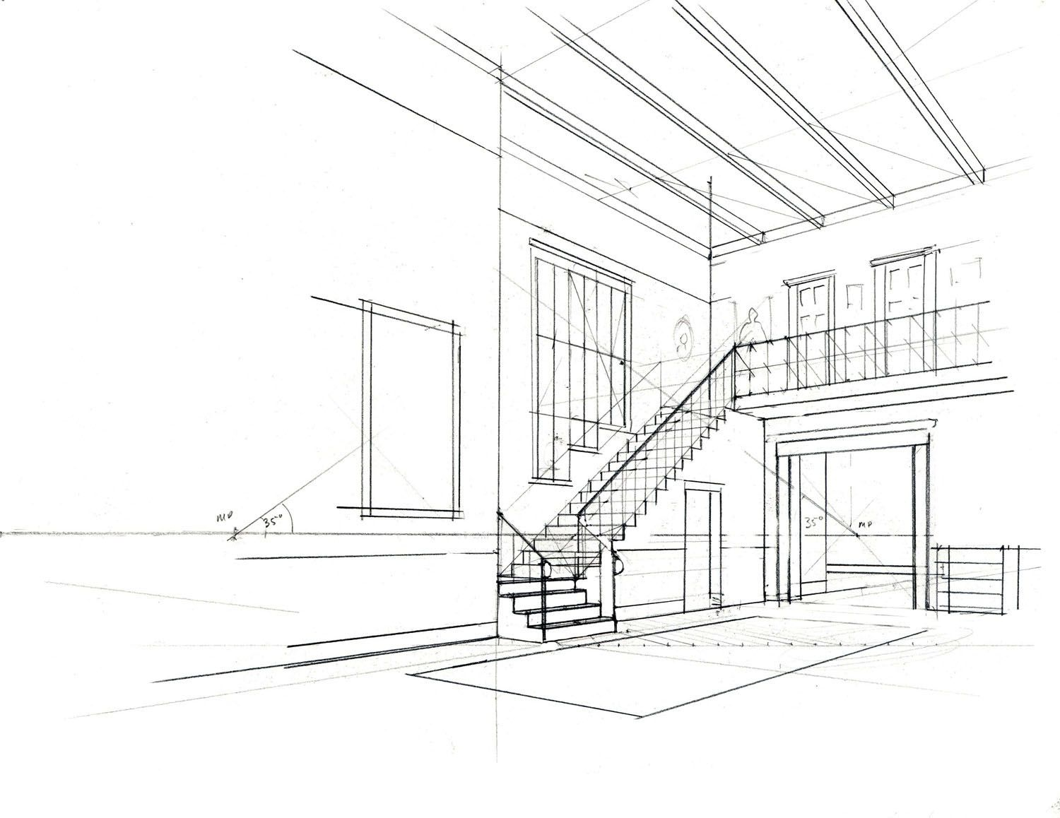 Simple Architecture Design Drawing 4946 Decorating Ideas