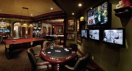 home game rooms | Best Home Theaters for Watching Football