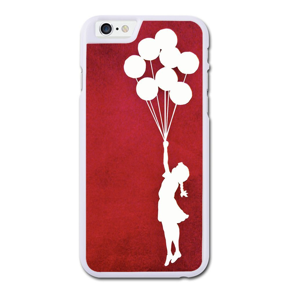 Banksy Girl Heart Balloon iPhone 6 Case