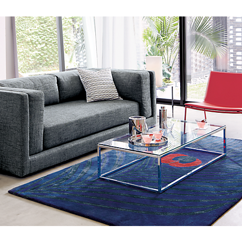 Smart Glass Top Coffee Table In Accent Tables Cb2 Coffee Table