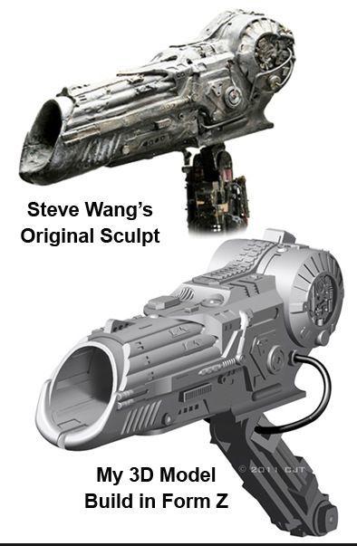 Building a Replica Predator Costume | predator shoulder cannon
