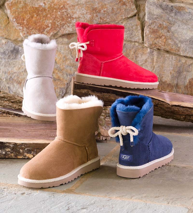 efd1de8fb76 UGG® Australia Selene Boots give a nod to nautical style with a rope ...