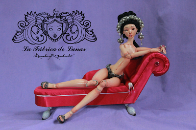 Bjdoll handmade La fabrica de Lunas art doll.