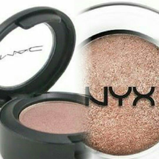 a mac dupe for mulch is nyx bedroom eyes this image does