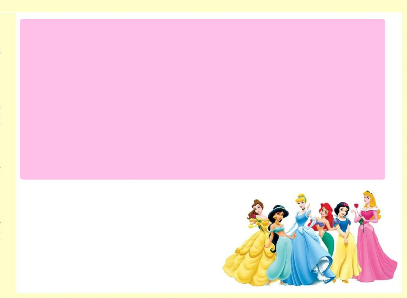 Download Free Printable Disney Princess Baby Shower Invitation - Baby shower invitations templates download free