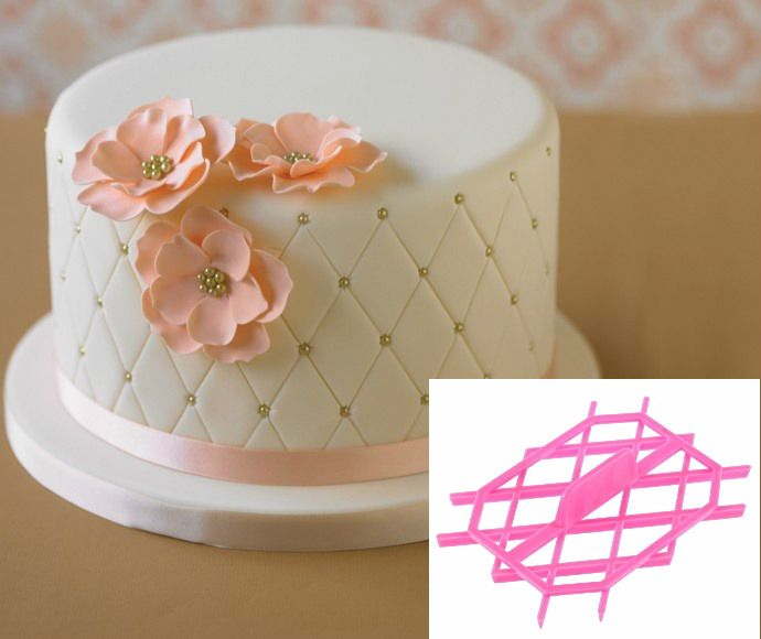 quilting fondant cake | Fondant Cakes and Cupcakes Ideas ... : quilted fondant - Adamdwight.com