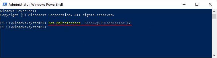 Cara Mudah Menyetting Secara Maksimal Penggunaan Cpu Untuk Windows Defender Di Windows 10 Di Windows 10 Kamu Memiliki Window Windows 10 Windows Microsoft