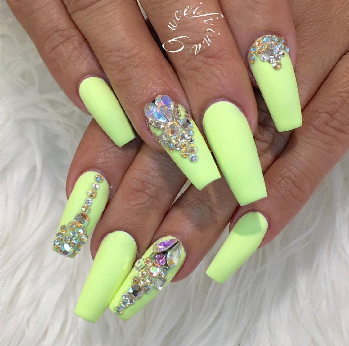 Embedded image | Nifty Nails | Pinterest | Nail nail, Bling nails ...