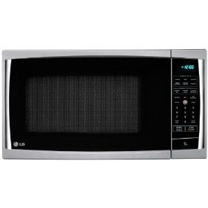 Lg Lcrt1510sv 1 5 Cu Ft Counter Top Microwave Oven With True Cook